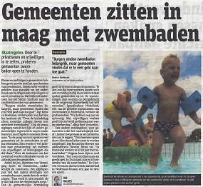 Gemeenten zitten in hun maag met zwembaden 17071402kl